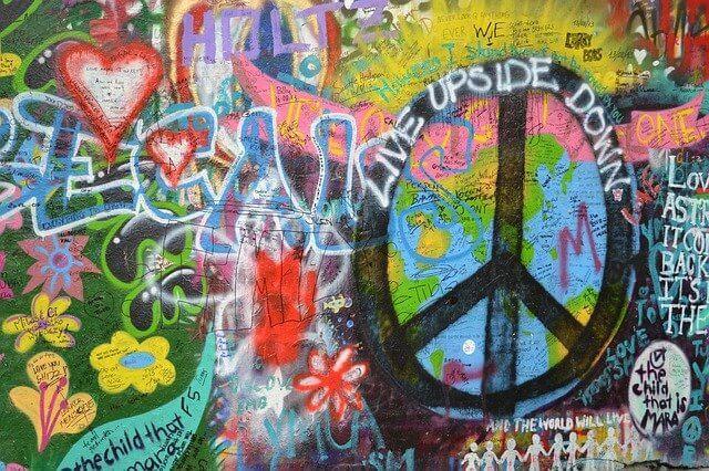 הקיר של לנון פראג צ'כיה